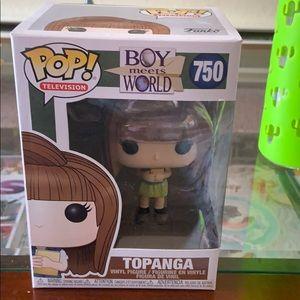 Pop! Television boy meets world topanga NIB